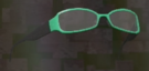 LRFFXIII Green Glasses