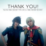 Noctis and Ace