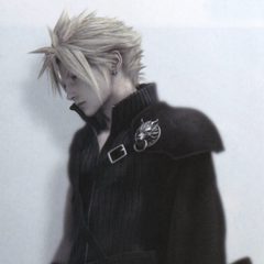 Cloud's <i>Final Fantasy VII: Advent Children</i> outfit for the <i>Final Fantasy VII Anniversary</i>.