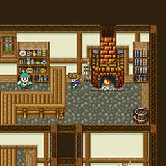 Tule's item shop.