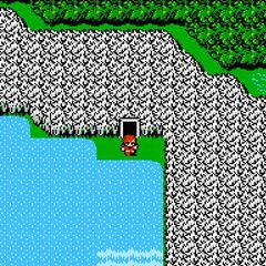 Semitt Falls on the World Map (NES).