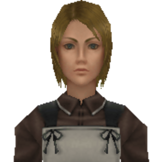 Cloud's mother in <i>Crisis Core</i>.