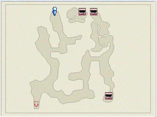 File:FFIVDS Cave of Eblan B1 Map.png