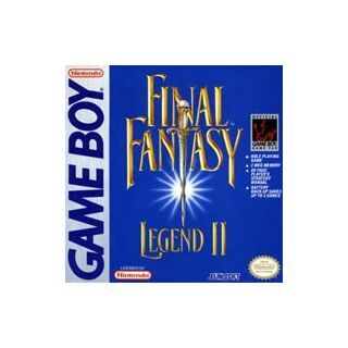 <i>Final Fantasy Legend II</i><br />Game Boy<br />North America, 1991