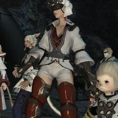 Minfillia and the Scions trying to escape from Castrum Centri.