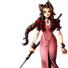 Aeris full art finished.