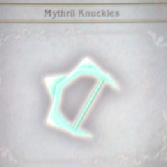 Mythril Knuckles in <i>Bravely Default</i>.