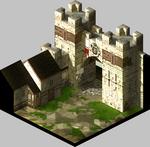 FFT-Inside Castle Gate in Lesalia
