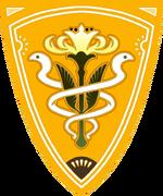 La bandera de Gridania.