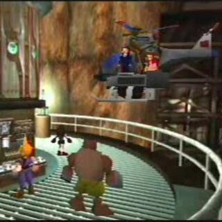 B1-Beta helicopter seen in <i>Final Fantasy VII</i>.