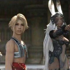 Fran with Ashe and Vaan.