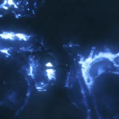 The old kings of Lucis in <i>Kingsglaive: Final Fantasy XV</i>.