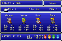 FFI GBA Save Menu