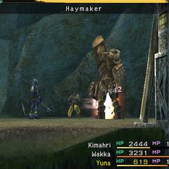 Haymaker.
