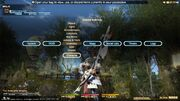 FFXIV PS3 Interface