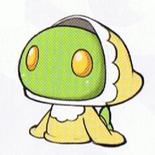 Baby Tonberry concept art.