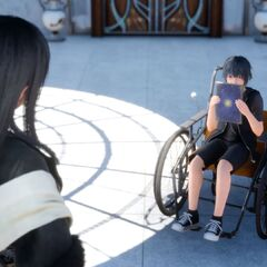 Gentiana with Young Noctis.