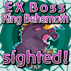 Behemoth King sighted.