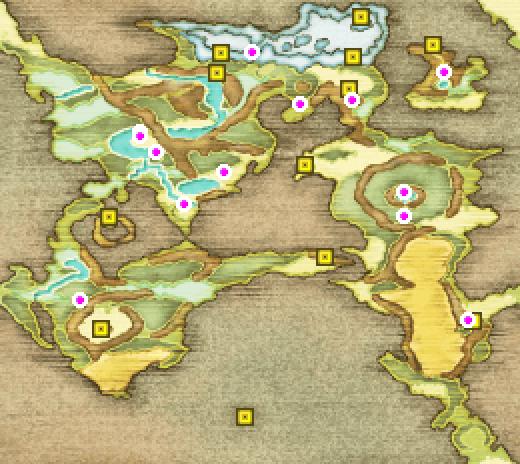 FFII PSP Map