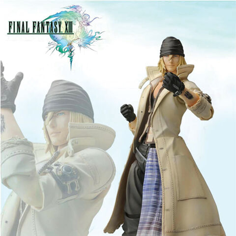 Snow Play Arts figurine.