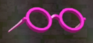 LRFFXIII Pink-rimmed Glasses