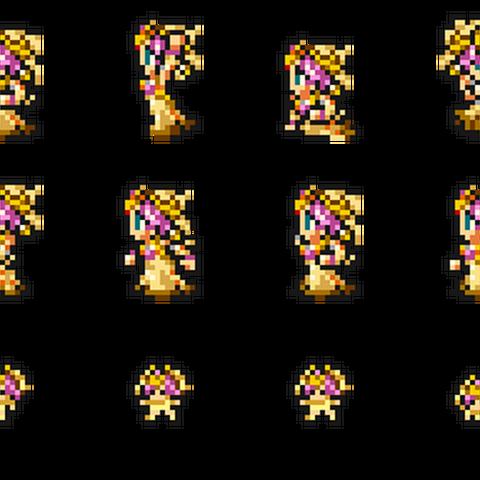 Set of Sarah's sprites.