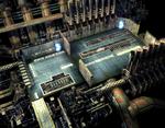 Underwater reactor interior