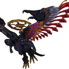 Render of Bahamut from <i>Final Fantasy X</i>.
