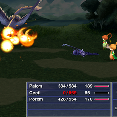 Pyroblast <i>Final Fantasy IV</i> (iOS).