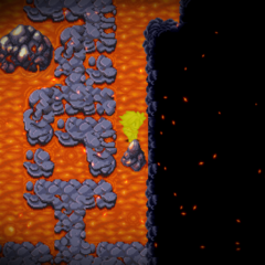 Lava damage floor in <i><a href=