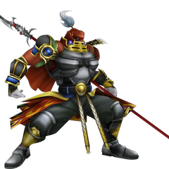 Traditional battle sprite render in <i>Dissidia 012</i>.