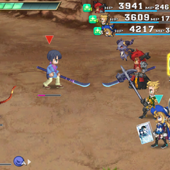 Example of the various rematch of bosses.