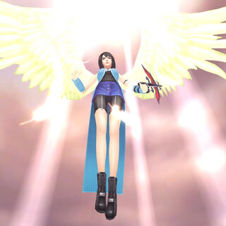 Rinoa's Angel Wing Limit Break.