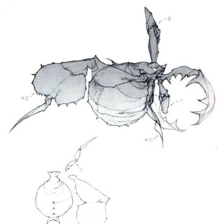 Antlion concept art.