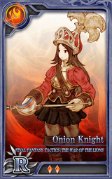 FFTWoL Onion Knight R F Artniks