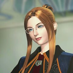 Quistis, in her SeeD uniform.