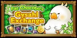 FFRK Fat Chocobo's Gysahl Exchange