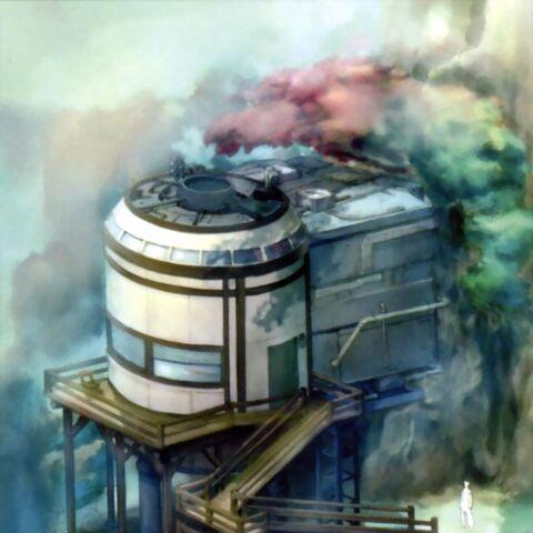 Shinra Cabin concept art.