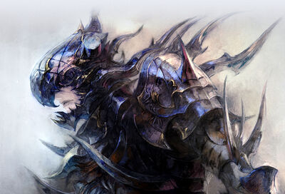 Estinien Heavensward art