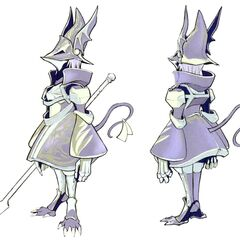 Concept art of Freya in Trance.