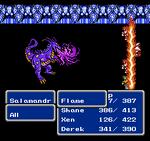FFIII NES Flame