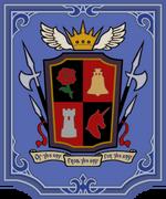 La bandera de Ishgard.