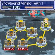Snowbound Mining Town WM Brigade