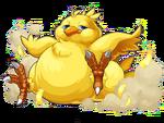 PAD Fat Chocobo artwork