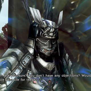 Tonogiri disagrees with the king's order.