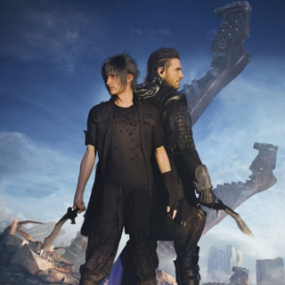 Noctis With Nyx.