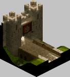 FFT-Outside Castle Gate in Lesalia