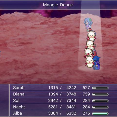 Moogle Dance.