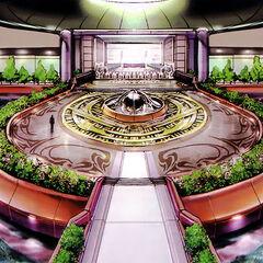 Entrance concept art.