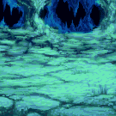 Battle background (Inside Meteorite) (GBA).